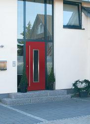 ACTUAL vrata STREETLINE - linija dizajna v izvedbi les, les-alu, plastika, alu in steklo