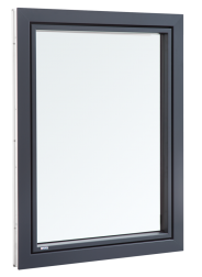 ACTUAL okna v izvedbi PVC-ALU in tudi v samo PVC