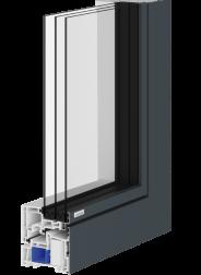 ACTUAL okna ALEVO :: Dodatna toplotna izolacija