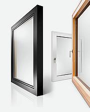 LES-ALUMINIJASTA okna Actual ALWOOD