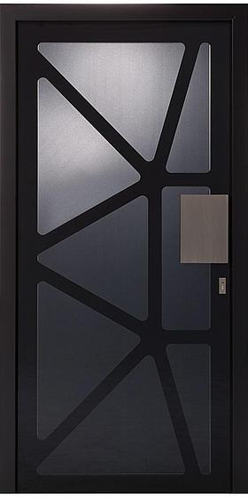 ACTUAL MOON vrata: linija dizajna les-steklo