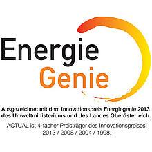 Actual okna Energie Genie